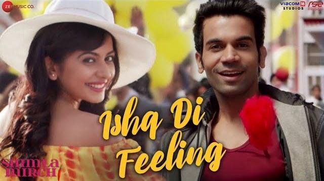 Ishq Di Feeling Lyrics - Shimla Mirch | Stebin Ben