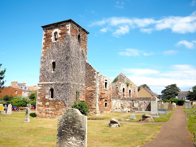 St Andrew's Church in North Berwick, East Lothian, Scotland