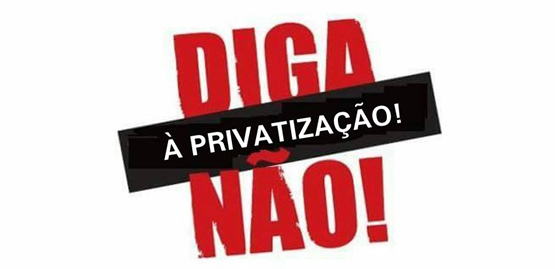 Resultado de imagem para foto não a privatização