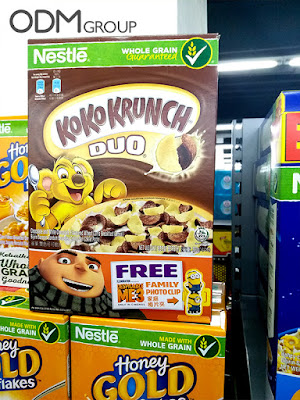 Despicable Me 3 GWP: Koko Krunch Creative Promo Gift