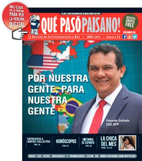 Paisano Magazine abril