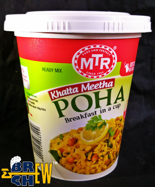 MTR - Breakfast In A Cup Review | Poha