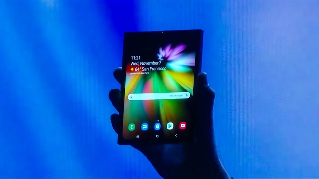 Samsung Finally Announced it own Foldable Smartphone