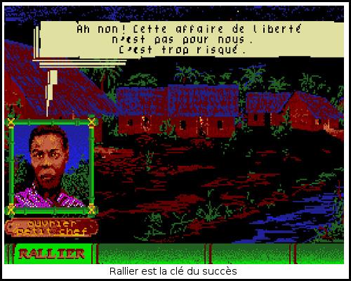 [TEST]ROM - Les Guerriers de l'ombre - Atari St/Amiga Freedom8