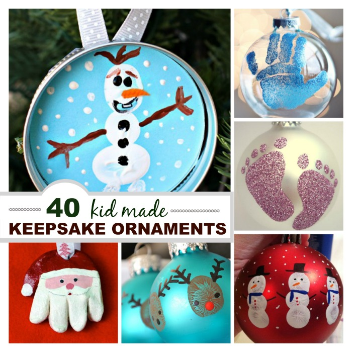 Kid Made Ornament Keepsakes | Growing A Jeweled Rose
