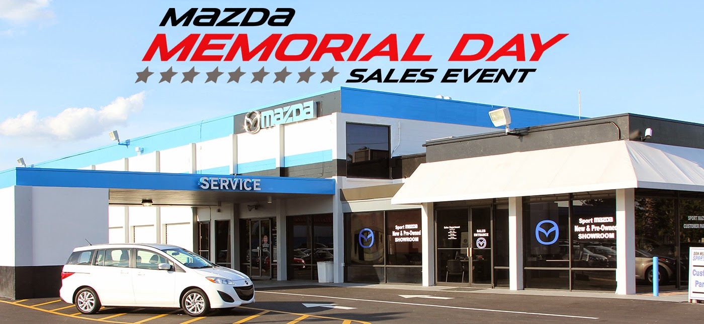 Don Mealey Sport Mazda >> LivingwithMyMazda.com: Memorial Day savings at Don Mealey