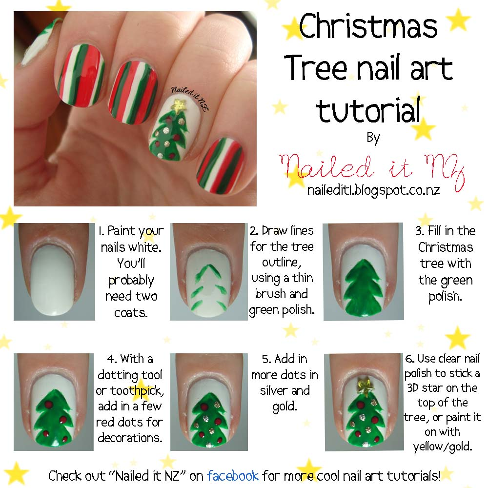 Nail Art For Short Nails #4