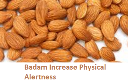 Health Benefits of Almond or Badam Increase Physical Alertness