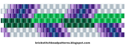 Free Brick Stitch Bead Pattern 9 Download