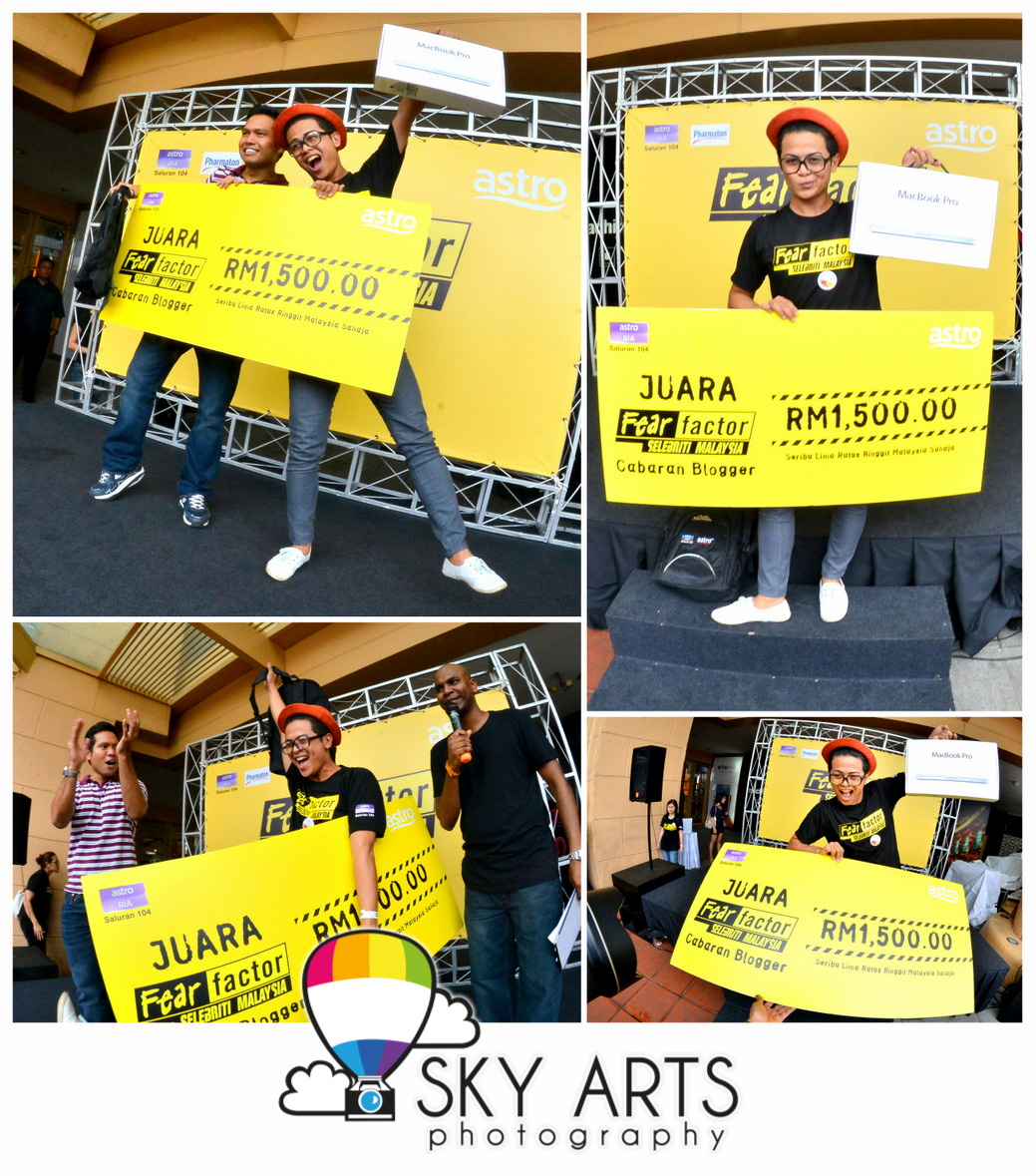 2aa33c8a678 Congratz to Kifli who won himself a MacBook Pro together with RM1,500 cash!!