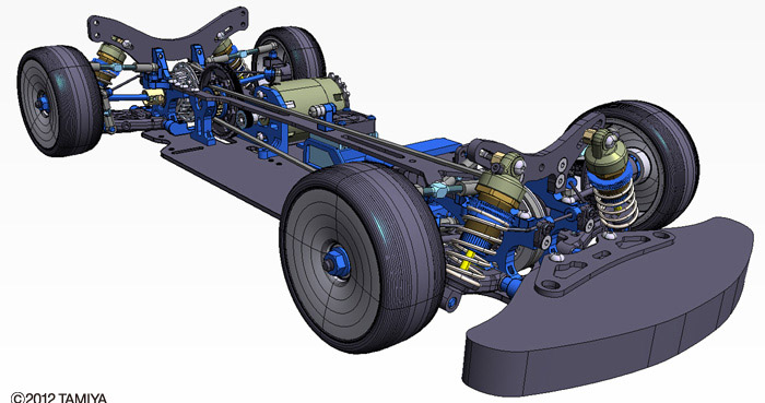 CAD do novo Tamiya 417 TRF