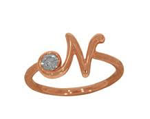 Rose Gold Love Initials from C KRISHNIAH CHETTY JEWELLERS ON MARGOSA ROAD