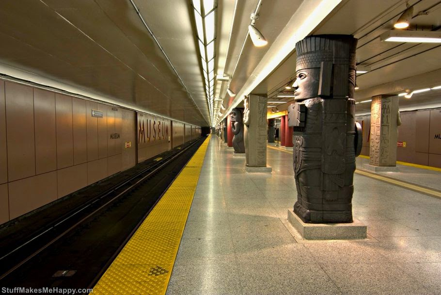 Museum Station, Toronto, Canada (A virtual unknown)
