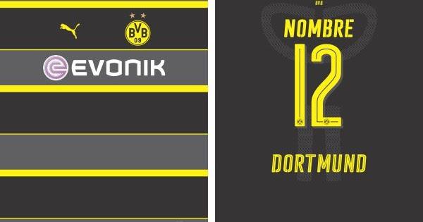 Diseños, Vectores Y Más: Borussia Dortmund 2016-2017 Away