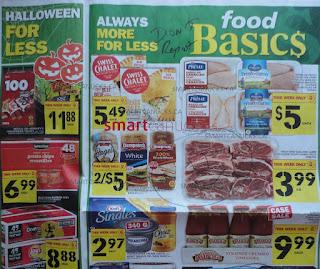 Food Basics Weekly Flyer October 19 – 25, 2017