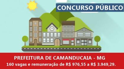 Concurso Prefeitura de Camanducaia 2018