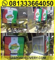 tas delivery makanan, box delivery motor pizza delisioso jogja