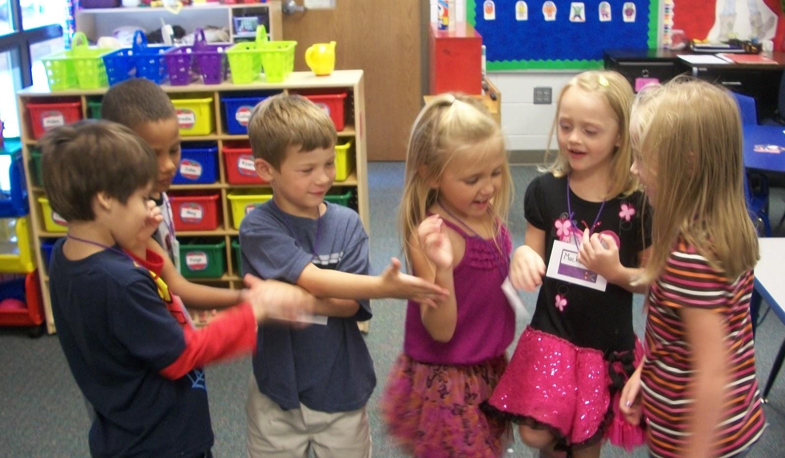 Kinder Garden: Mrs. Friederich's Kindergarten: First Day Of Kindergarten