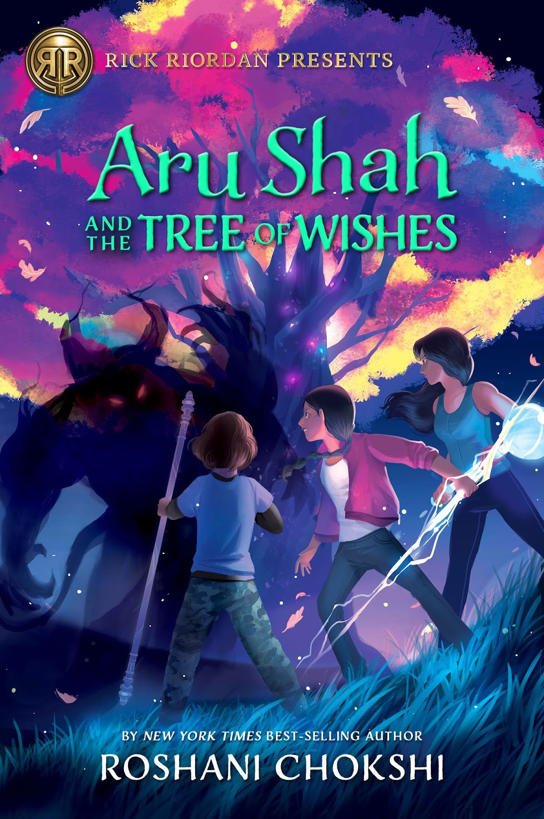 Aru Shah and the Tree of Wishes by Roshani Chokshi