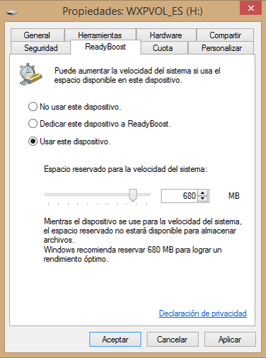 Aumentar memoria RAM en Windows 10