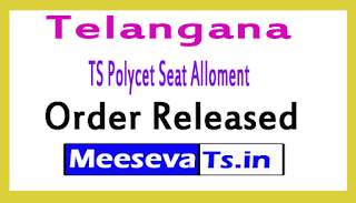 Telangana TS Polycet Seat Alloment Order Released 2017