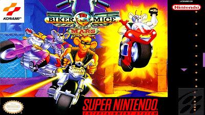 Rom de Biker Mice From Mars em português super nintendo download