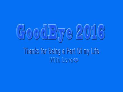 Goodbye 2016 Photo with Quotes Download