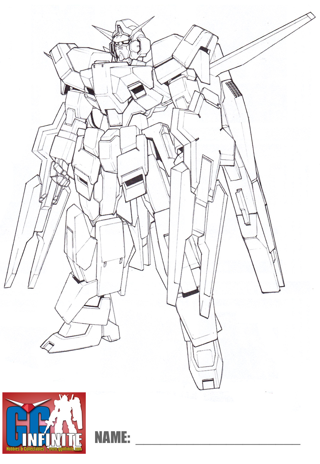 g gundam coloring pages - photo#3