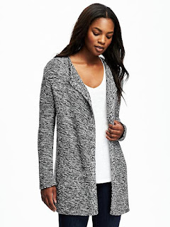Old Navy Relaxed Open Front Textured Cardigan $33 (reg $50)