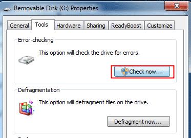"Cara Memperbaiki ""Windows Was Unable To Complete The Format"" Error - Check Errors 2"