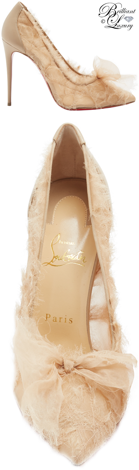 Brilliant Luxury ♦ Christian Louboutin Toufrou Pumps