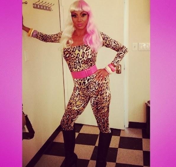 Basketball Wives LA's Draya, Bloody But Unbowed (our words ...Nicki Minaj Pasties Halloween