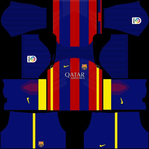 Kits Soccer Games!: Barcelona Fantasy. Kits DLS