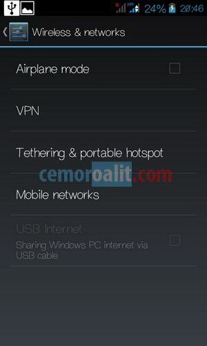 tethering or portable Wi-Fi hotspot
