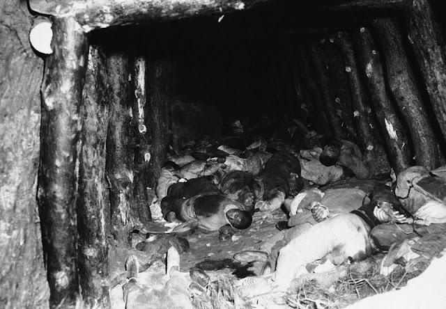 Cadáveres de 60 civiles descubiertos en la mina de la montaña Kumbongsan