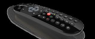 Modern Black Remote