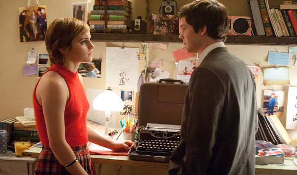 Logan Lerman and Emma Watson in The Perks of Being a Wallflower