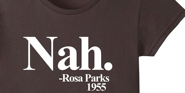Rosa Parks Nah T-Shirt Brown