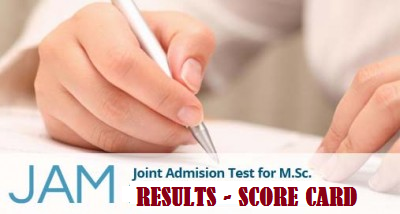 JAM Result 2016 Merit List Name wise by  | Manabadi News and Results
