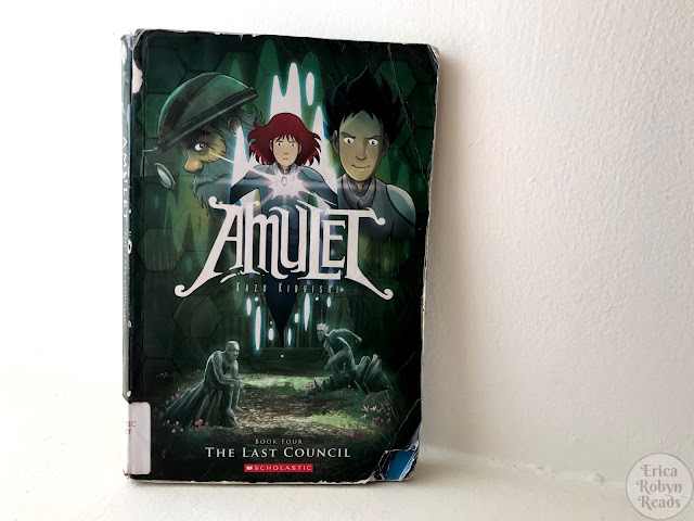 Graphic Novel Review of The Last Council (Amulet #4) by Kazu Kibuishi
