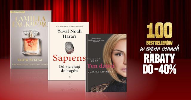 Takie książki - Taka Troche o.. 100 BESTSELLERÓW W SUPER CENACH