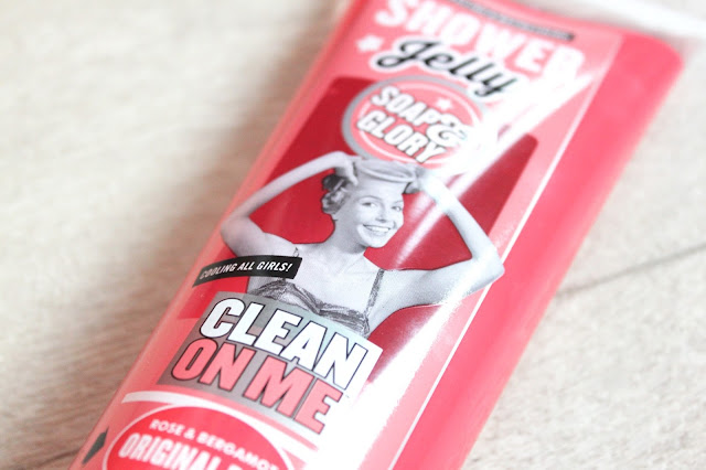 Soap & Glory Boots Haul Clean on Me Original Pink Shower Jelly