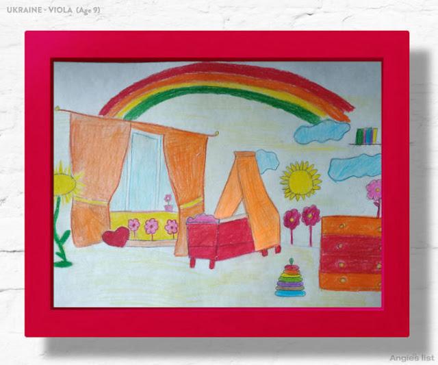 Anak-anak Yang Menggambar Kamar Impian Mereka