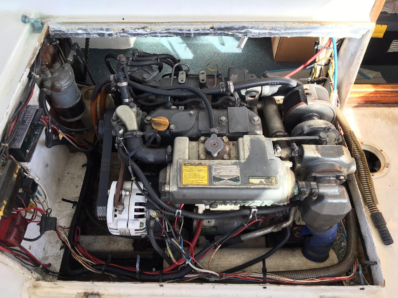 S/Y RAPTOR: Strip, Service & Repaint Our Yanmar Diesel Engine