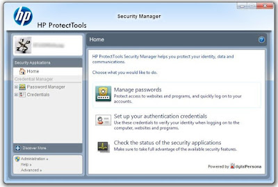hp protecttools security manager windows 8.1