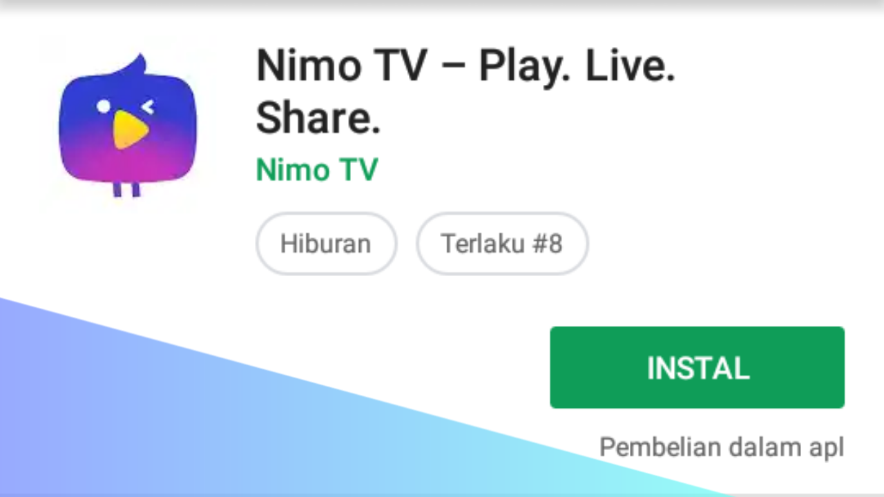 Nimo TV, Platfrom Live streming Game dan E-Sport