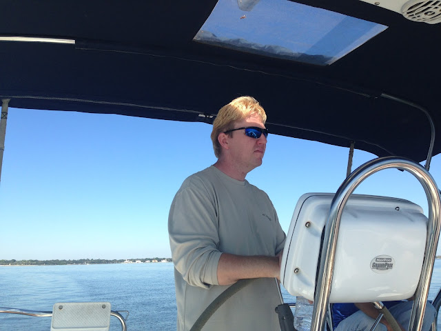 Sailing lesson on a Hunter, St Petersburg, FL