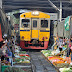 Maeklong Railway Market - Unusual Thai Market That Makes Way For Trains