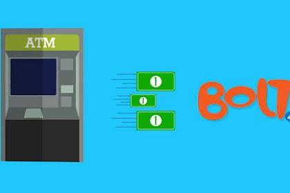 Cara Isi Ulang Bolt Via ATM BCA, Mandiri, BRI, ATM Bersama