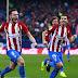 Fútbol: El Atlético gana sin Griezmann y retoma el tercer lugar